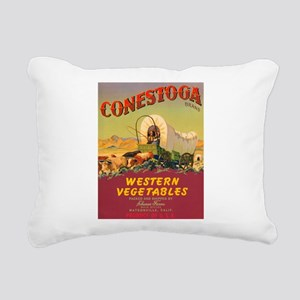 Conestoga Western Vegetables Rectangular Canvas Pi